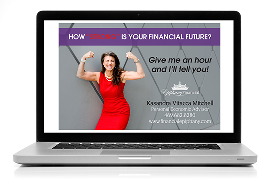 Epiphany Financial - Branding + Marketing + Design