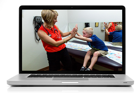 Collins Street Pediatrics - Photography + Web Design
